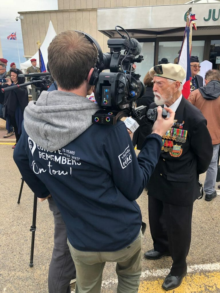 Europe Remembers camera Cine Media Groep Groningen